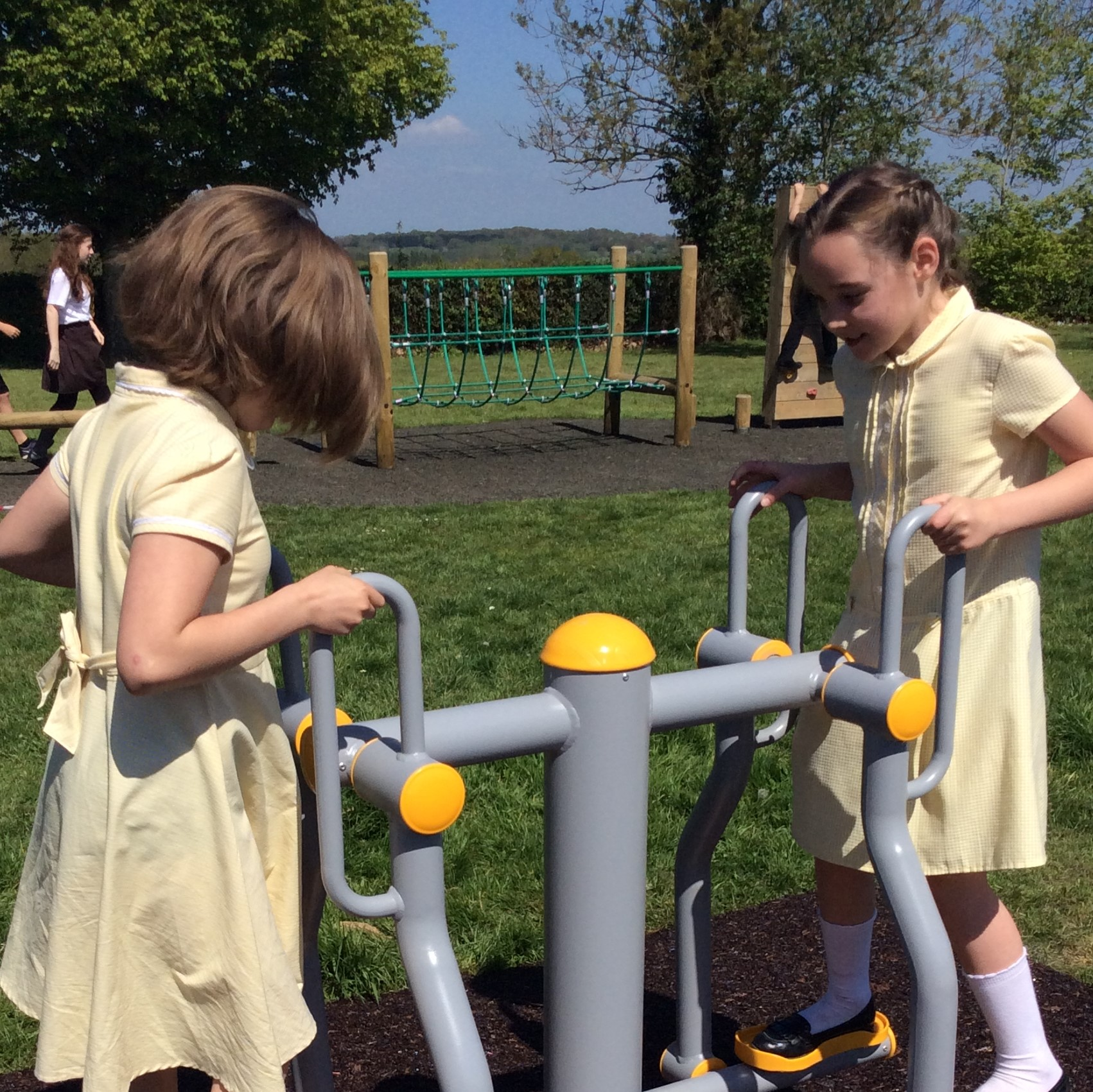 Exercise Equipment for our Playground